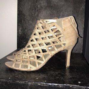 """Nude 3"""" heels"""